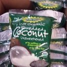 Let's Do Organic Coconut Shredded, Unsweetened 8-Ounce (Pack of 3)