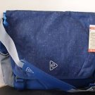 Embark Recycled Content Future Tech Messenger Bag Blue