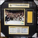 NHL Boston Bruins 2011 Stanley Cup Champions Ticket Frame