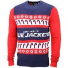 NHL Forever Collectibles Columbus Blue Jackets  Ugly Sweater Size XL