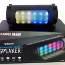 Sharper Image SBT614BK Wireless Bluetooth Party Speaker with LED Color-Changing