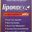 Liporidex MAX - Dietary Supplement - Ultra-Formula MAX - 72 Capsules