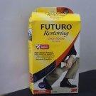 Futuro Restoring Dress Socks for Men Navy Medium Firm 20-30 mm/Hg