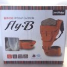 Jerry Baby Fly B Shoulder and Hipseat Carrier with Cushion Navy Blue