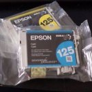 Epson 125 Yellow and Blue Ink Cartridge
