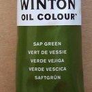 Winsor & Newton Winton Oil Paint Tube, 200ml, Sap Green