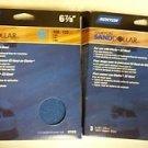 4 Pack Norton Sand Dollar Discs 21819 6 7/8 in 100 - 120 Grit Total of 12 Discs