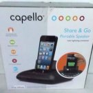 Used Capello Ci 100 Portable Speaker Dock with Lightning Connector - Black