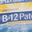 EasyComforts B-12 Patches One Month Supply