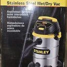 Stanley SL18017 4.5HP, 8 Gallon Stainless Steel, Wet/Dry Vac