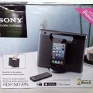 Used Sony RDPM7IPN Lightning iPhone / iPod Portable Speaker Dock - Black