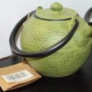Old Dutch Infinity Moss Green Cast Iron Teapot, 18 Oz