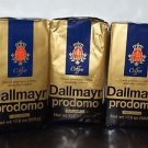 3 Pack Dallmayr Gourmet Coffee, Prodomo Ground, 17.6 oz