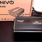 Kinivo CCA300 Car Power Inverter with Dual USB Charging Ports - Black