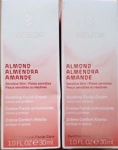 (2 Pack) Weleda Almond Soothing Facial Cream, 1 oz