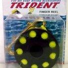 Trident Finger Reel with Brass Clip Wreck Scuba Diving Tech Spool - 160 Feet