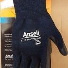 (12 Pairs, $10/Pair) Ansell Cut Protection 97-505 Kevlar Glove, Small