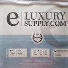 eLuxury Supply - Egyptian Cotton Sheet Set, Twin, White, 400 Thread Count