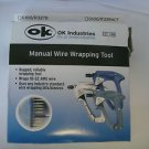 OK Industries G200/R3278 Manual Wire Wrapping Tool Green - 18-32 AWG Wire