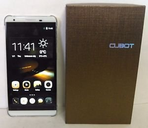 Used Cubot X15 5.5'' In IPS 1080�1920 4G LTE Android 5.1 OS Quad Core - White