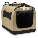 "Zampa Portable Crate - For Pets Up to 70 pounds (25"" x 36"" x 25"")"