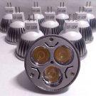 10 Pack Jacky LED MR16 Dimmable LED 4W Warm 3000K Ultra Bright Spot Light Bulb