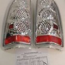 APC 407505TLC Chevrolet Silverado Diamond Cut Tail Light Assembly