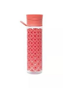 6 Pack Orla Kiely Tritan Water Bottle Rose