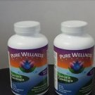 2 Pack Pure Wellness Garcinia Cambogia 500mg 60% HCA 180 Capsules each bottle