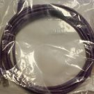 Lynn Electronics OLG20APUV-014 Optilink CAT6 14-Feet Patch Cord, Purple, 2-Pa