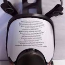 3M Full Facepiece Reusable Respirator 6898, Respiratory Protection, Medium