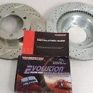 PowerStop K2422 Front Brake Pad & Rotor One-Click Brake Kit for 03-09 4Runner