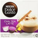 Nescafe Dolce Gusto for Nescafe Dolce Gusto Brewers, Chai Tea Latte, 48 Count