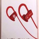 Used Silicon Devices Volcano Bluetooth v4.0 Sports Headphones w/ Mic - Red