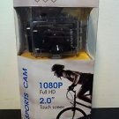 SumSonic Action Camera 5.0MP Full HD 1080P - 2 inch Touch Screen - Black