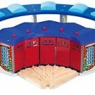 Maxim Deluxe Roundhouse with 5 way Switch Track Wooden Train add on