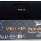 AEDILYS HIFI DTS-HD Technolog Portable Wireless Bluetooth Speaker Stereo - Black