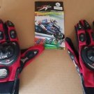 PRO-BIKER MCS-01C Motorcycle Racing Full-Finger Warm Gloves - Black (XL) -1 Pair