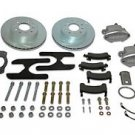 """SSBC A155-4BK Sport R1 Rear Kit with Black Calipers for Plymouth GTX 67""""-71"""""""