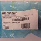 Amphenol Circular MIL Spec Connector 4P #16 PIN CONTACTS MS3102E18-4P