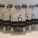 10 Pack of CaseTitan iPhone 6 Plus Bumper Case with Ultra Clear Back Panel