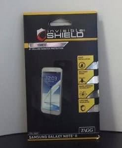 InvisibleShield for Samsung Galaxy Note II Full Body 1 Pack Clear