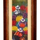 Oil Painting Serranitas Cuzco Peru