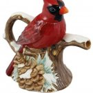 Teapot Series Winter Cardinal