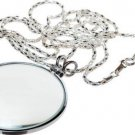 NECKLACE MAGNIFIER - 2, 3x Power W/36 SILVER CHAIN - MG2016S, Model:, Office
