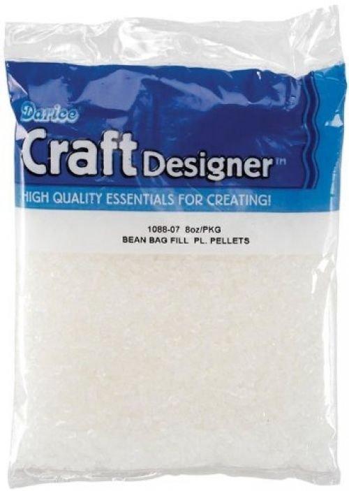 Bean Bag Filler Plastic Pellets-8 Ounces