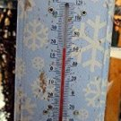 Flaky Friends Forever Outdoor Thermometer - Snowman Christmas