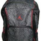 Jordan Elephant 2-Strap Backpack - Black/red, One Size
