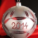 Waterford HH Lismore 2014 Ball Ornament