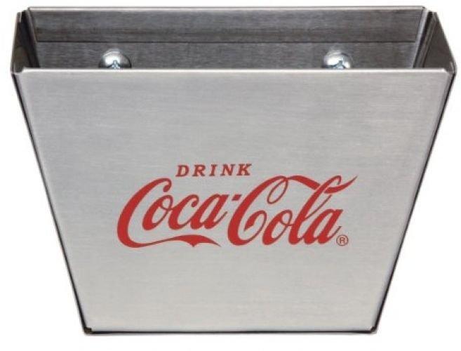 TableCraft Coca-Cola CC361 Stainless Steel Cap Catcher, Red/Silver